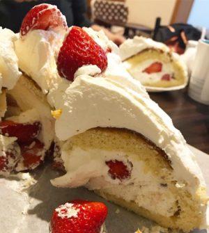 ドーム型ケーキ2