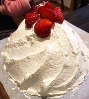 ドーム型ケーキ